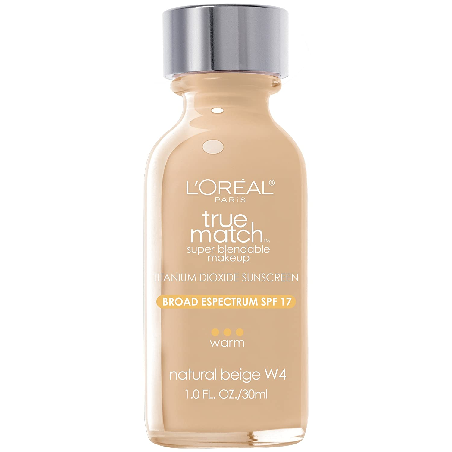 Loreal Paris True Match Super Blendable Makeup Natural Beige 1 Fl