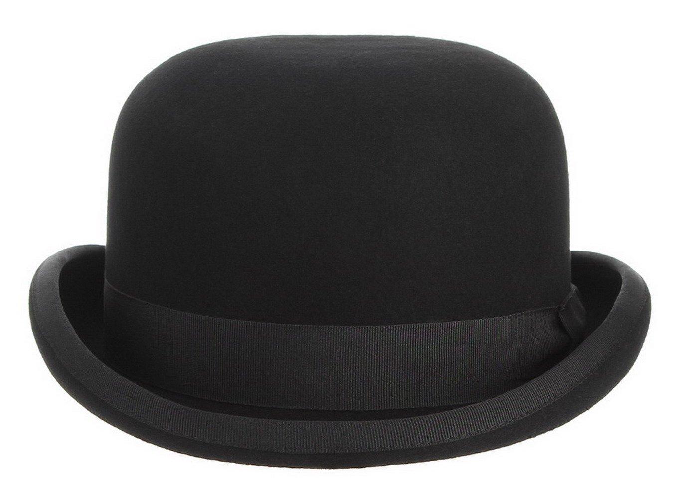 La Vogue-Classico Cappello Lana Jazz Unisex Bombetta Topper Berretto Puro  Rotondo Cap 52a222ae007e
