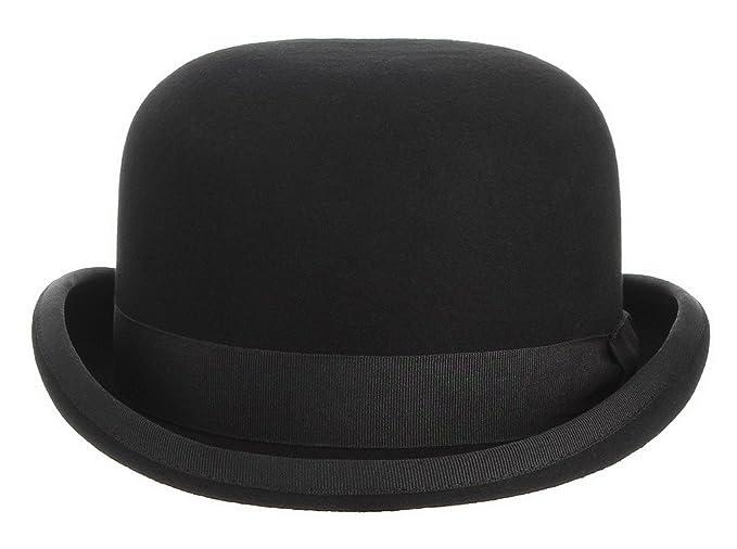 La vogue-Classico Cappello Lana Jazz Unisex Bombetta Topper Berretto Puro  Rotondo Cap  Amazon.it  Abbigliamento 16c86111d17f