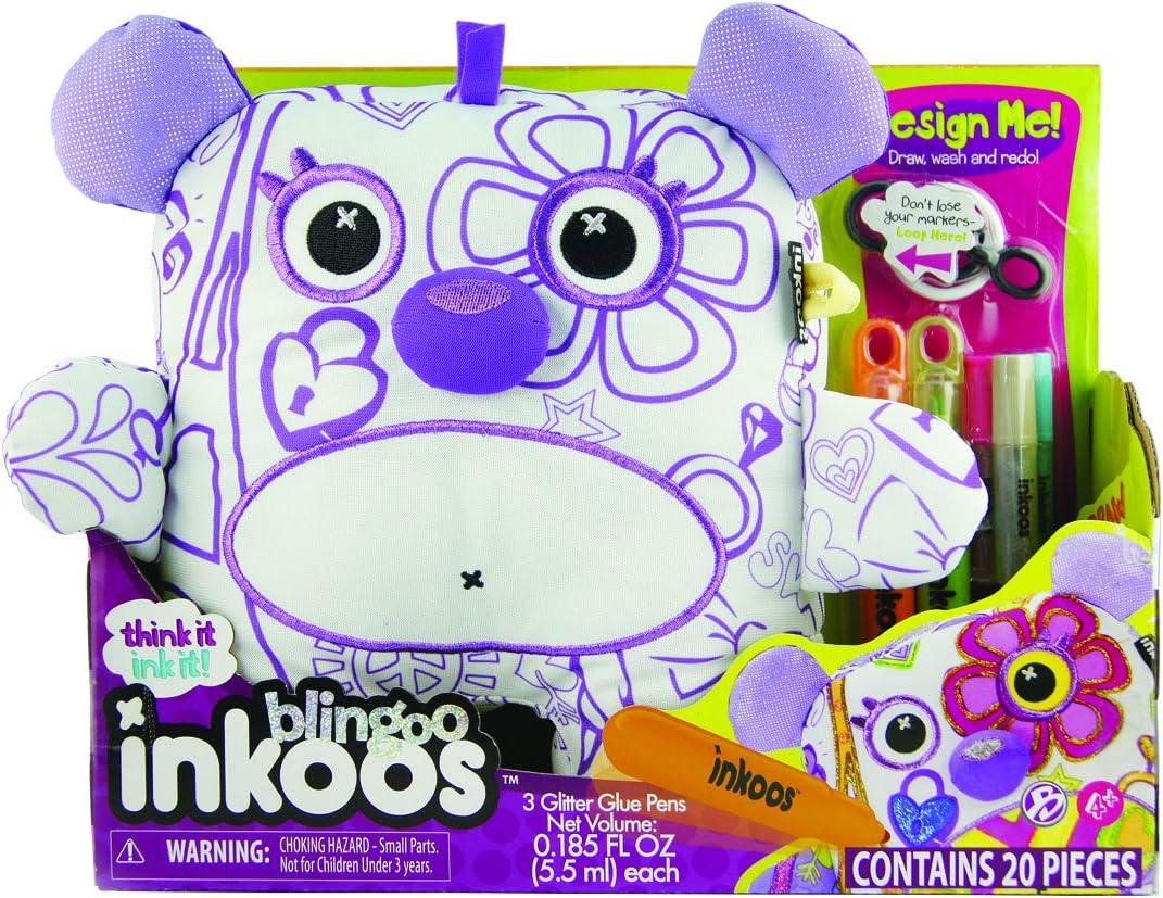 Inkoos Deluxe Blingoos Oso de peluche para colorear, se puede ...