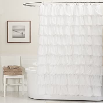 Lush Decor Ripple Shower Curtain 72quot X