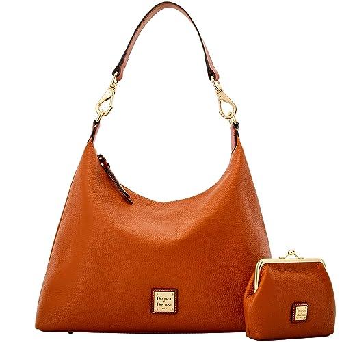 7619ae366ce7 Dooney   Bourke Pebble Grain Juliette Hobo Large Frame Purse Shoulder Bag   Amazon.co.uk  Shoes   Bags