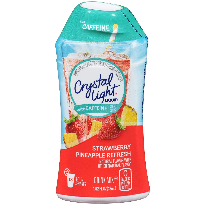 Crystal Light Liquid Strawberry Pineapple Refresh (Pack of 8)