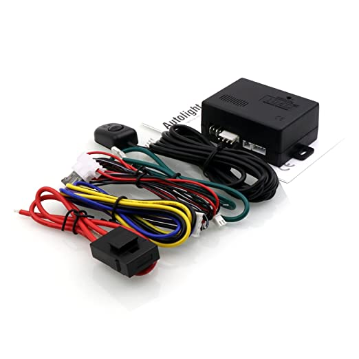 Amazon.com: Car Auto light Sensor System Safety Accessories Automatically Control The Lights ON and OFF by Light Sensor 12V: Automotive