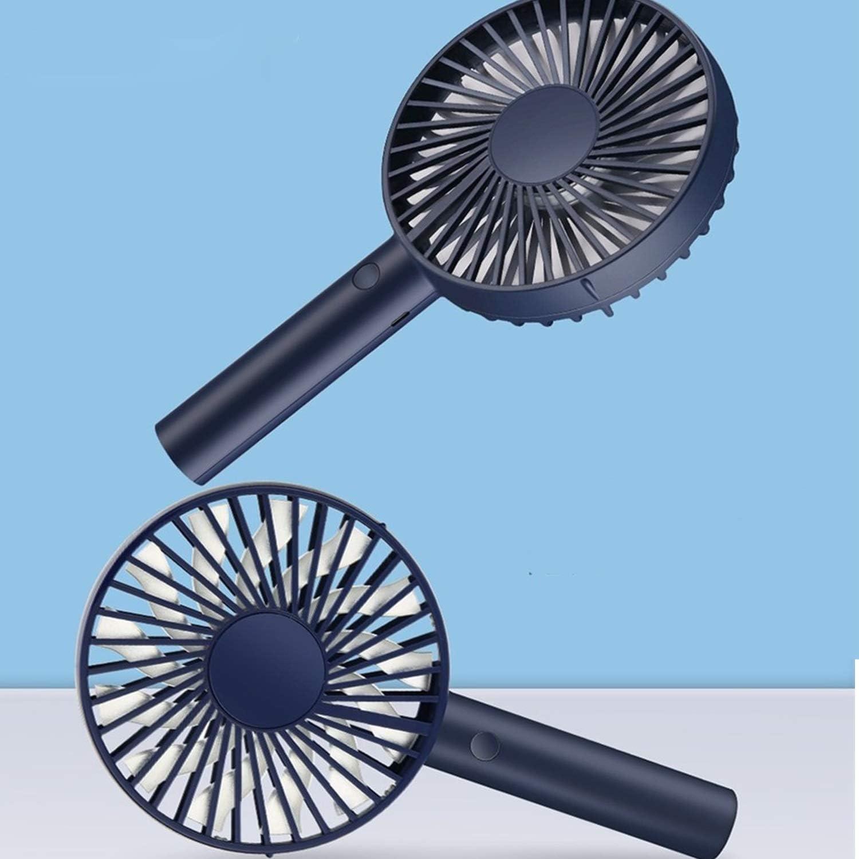 XIAOF-FEN Handheld Desktop Mini Fan Portable Mute USB Charging Small Fan 3 Gear Wind Brushless Motor USB Fan