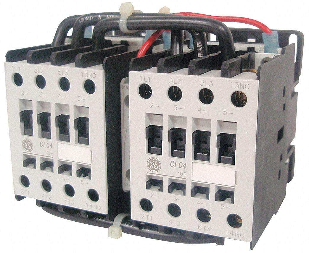 GE 240VAC IEC Magnetic Contactor; No. of Poles 3, Reversing: Yes, 34 Full  Load Amps-Inductive: Amazon.com: Industrial & Scientific