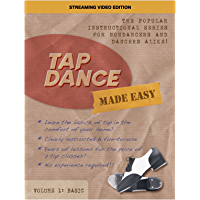Tap Dance Made Easy Vol 1: Basic (Streaming Video Edition) book cover