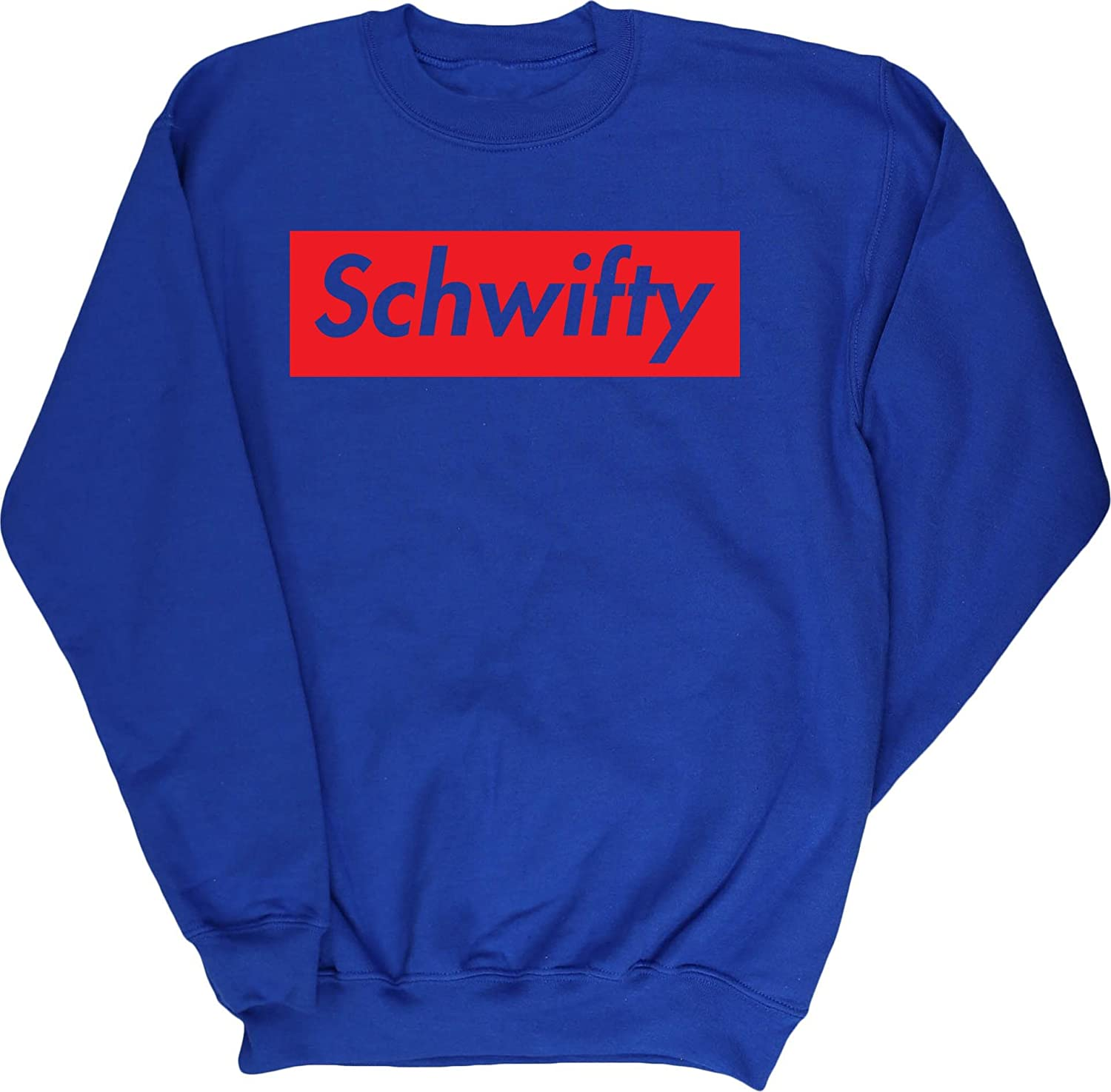 Hippowarehouse Schwifty Unisex Jumper Sweatshirt Pullover Specific Size Guide I