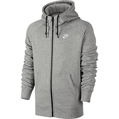 bd465c50bf6 Image Unavailable. Image not available for. Color  Nike Men s AW77 Fleece  FZ Hoodie