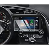 YEE PIN Screen Protector for 2014-2019 Chevrolet Corvette MyLink Center Control Touch Screen, Car Navigation Display…