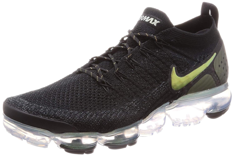 MultiCouleure (noir Multi Couleur Metallic argent 015) Nike Air Vapormax Flyknit 2, Chaussures d'Athlétisme Homme 45 EU