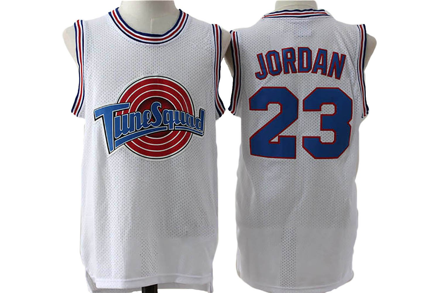 WELETION Bugs 1 Space Mens Movie Jersey Basketball Jersey White//Black S-XXL