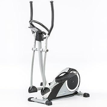 skandika Crosstrainer Ares, ergómetro, Ellipse Trainer con Bluetooth, 24 Niveles Obstrucción Ajuste y