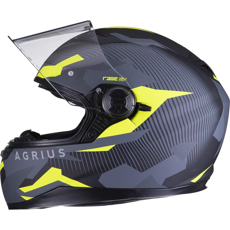 Agrius Motorradhelm Rage SV Tracker