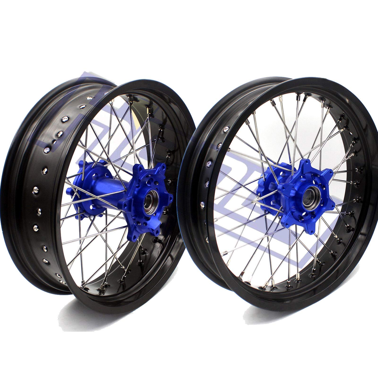 FidgetFidget 3.5/4.25 Wheels Set for KTM SXF EXCR XCF XCW 125-530 250 350 2003-2018