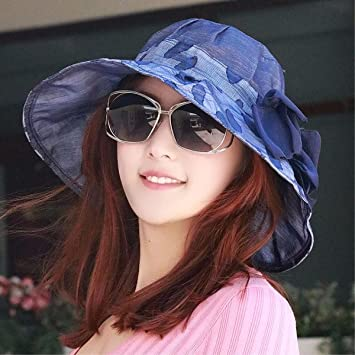 Sombrero De Mujer Sra. Cap Visor Del Sombrero De La Gasa Visor Respirable  Fino Sombrero 4b58786c5af