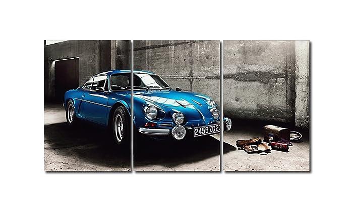 Triptico Alpine Renault A110 180x90 cm