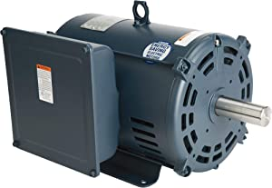 Leeson Compressor-Duty Electric Motor - 7.5 HP, 1,750 RPM, 230 Volts, Single Phase, Model Number 140155