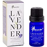 Sacred Soul 100% Pure Lavender Essential Oil - 10ml - Organically Grown - GCMS Tested - Perfect For Aromatherapy