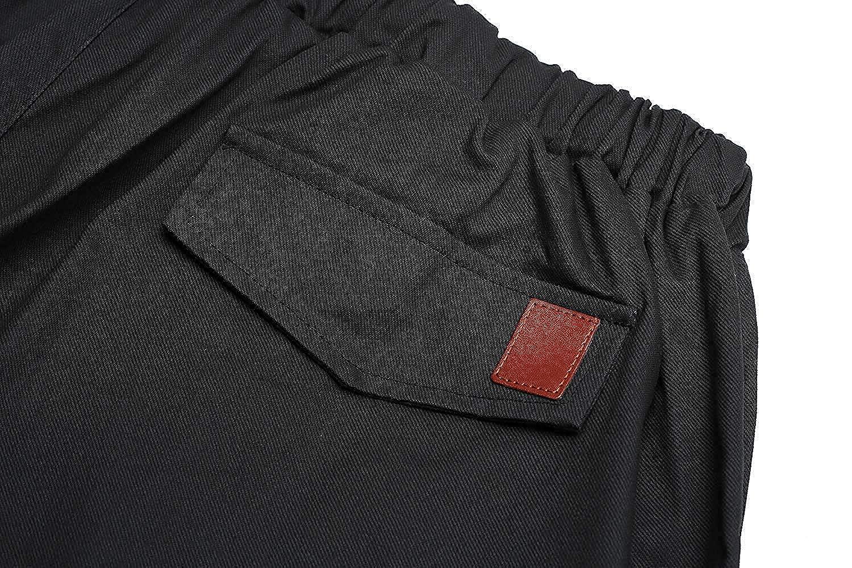 Mens Cargo Pants Slim Fit Casual Jogger Pant Chino Trousers Sweatpants