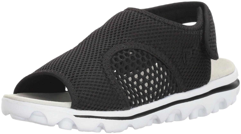 Propet Women's TravelActiv Ss Sandal B01IODDEJ8 9.5 4E US|Black