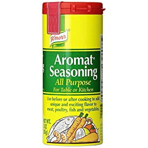Knorr Aromat Seasoning 3 Ounces (Pack of 6)