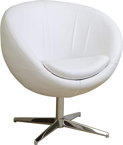 Christopher Knight Home CKH Modern Leather Roundback Chair
