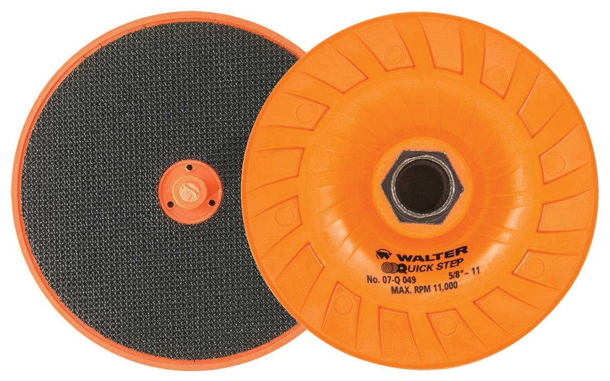 Walter Surface Technologies 07Q049 Quick-Step Backing Pad