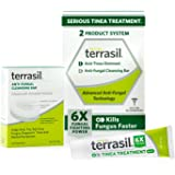 Terrasil Tinea Treatment 2-Product Ointment and Cleansing Bar System with All-Natural Activated Minerals 6X Tinea Fungus Figh