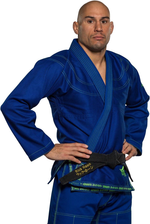A2 FUK78 Fuji Suparaito BJJ GI Martial Arts Uniform Blue