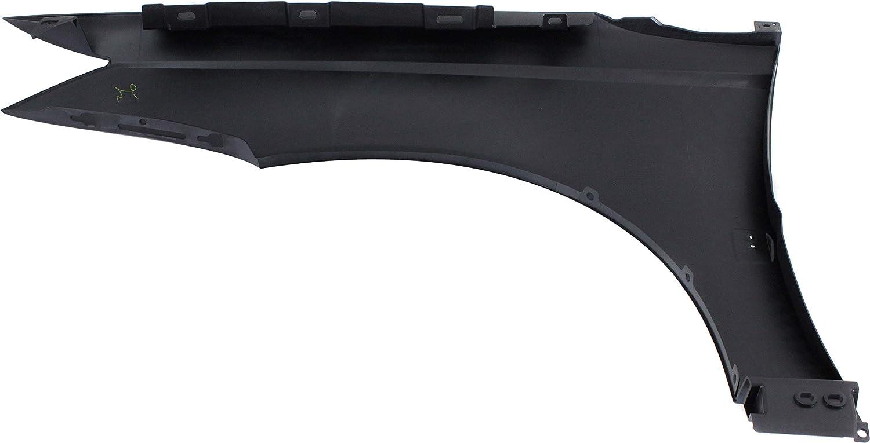 Front Fender Compatible with 2003-2007 Saturn Ion Plastic Primed Sedan Passenger Side