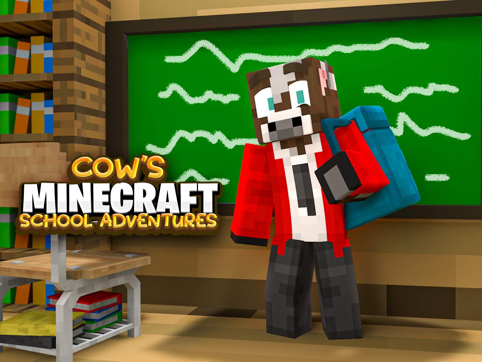 Cow's Minecraft School Adventures - Season 1
