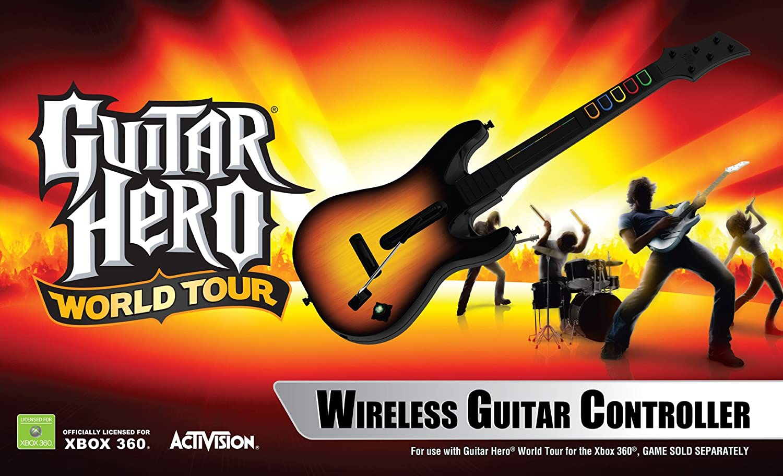 Guitar Hero World Tour Guitar : Xbox 360: Amazon.es: Música