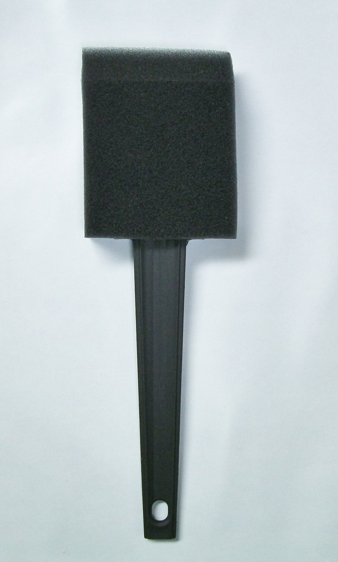 2'' Foam Brush with Plastic Handle, Box of 36