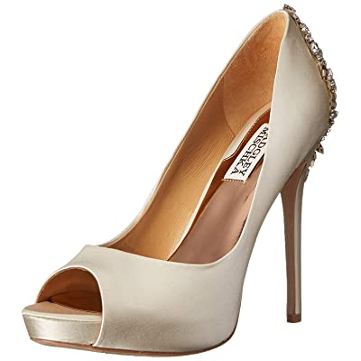 Badgley Mischka Women's Kiara Platform Pump: Badgley Mischka: Shoes