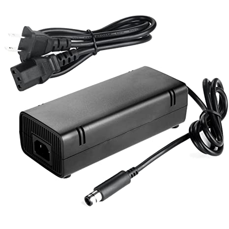 AC Adapter Charger Power Supply Cord for Xbox 360E 360 E Brick Game on