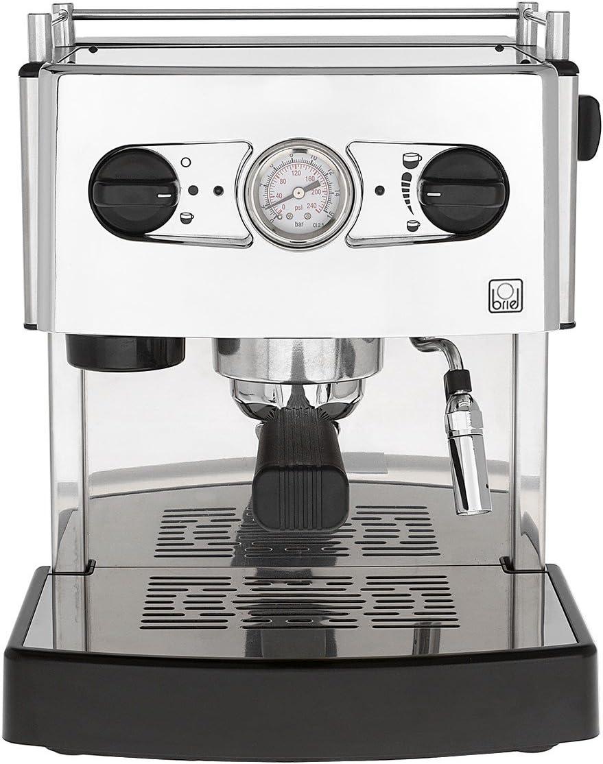 Briel ES 161 A TB Domus Due Cafetera espresso, 1200 W, Acero ...