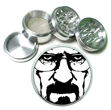 Amazon.com : Breaking Bad Walter White 4Pc Aluminum Grinder ...