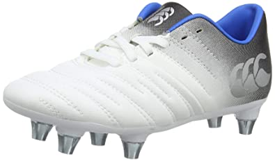 83f9692f0dd519 Canterbury Phoenix 2.0 Soft Ground, Unisex Kids' Firm Ground Rugby Boots,  Optic White