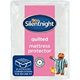 Silentnight Quilted Mattress Protector - Double