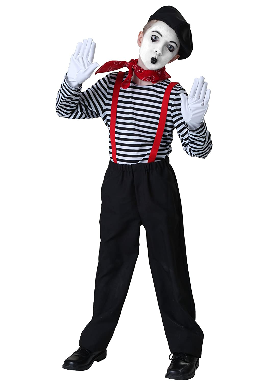 Big Boys' Mime Costume