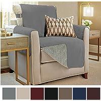 Gorilla Grip Original Premium Micro Suede Slip Resistant Slip Cover Couch  Protector, Furniture