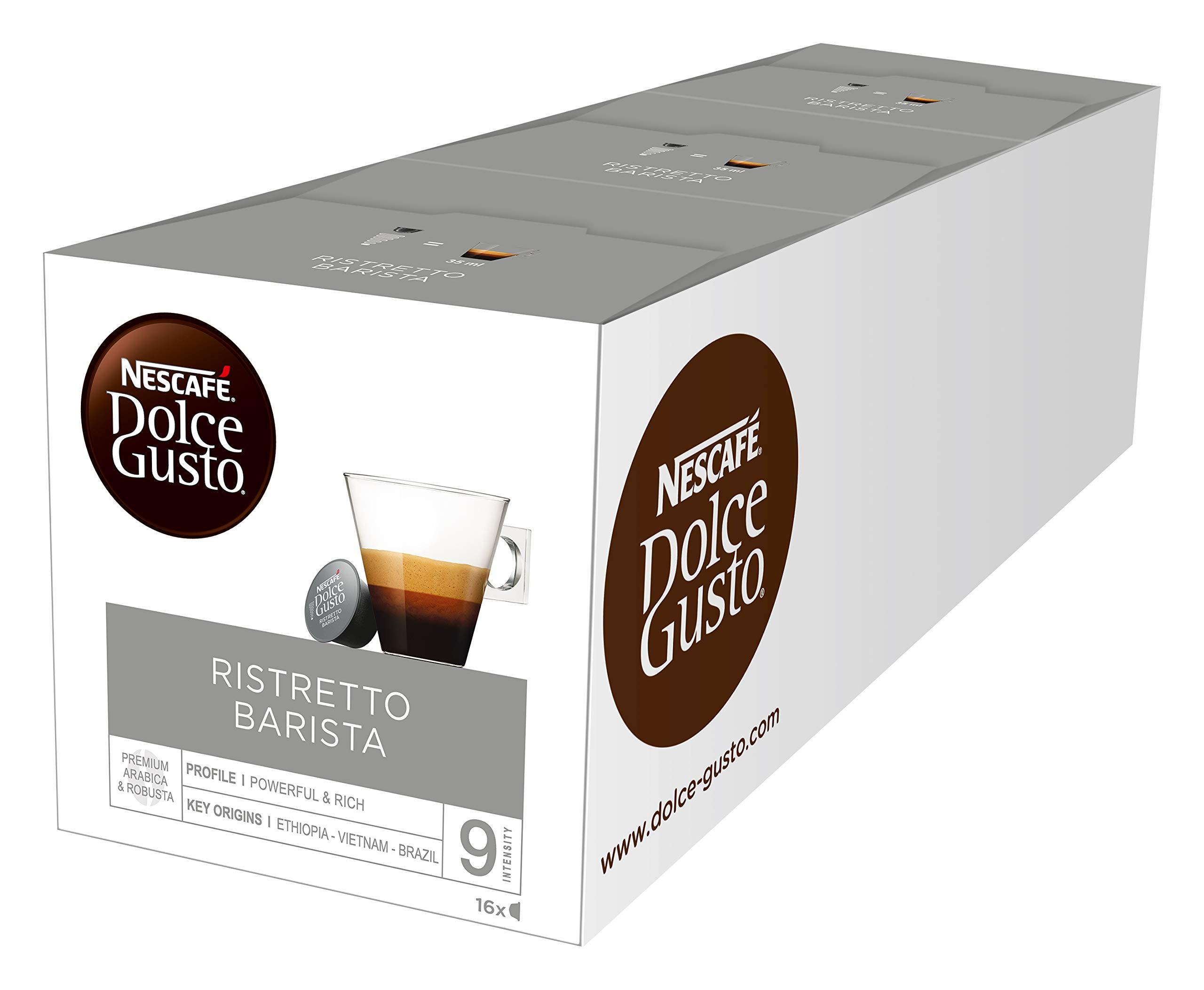 Nescafe Dolce Gusto Espresso Barista 16 capsules - Pack of 3