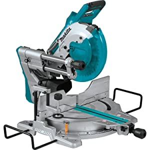 "Makita XSL06Z 18V x2 LXT Lithium-Ion (36V) Brushless Cordless 10"" Dual-Bevel Sliding Compound Miter Saw with Laser, TOOL Only"