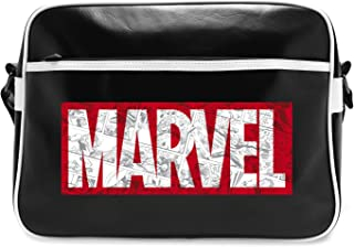 ABYstyle Marvel Borsa a Tracolla-Logo Vintage per Adulti, L, ABYBAG202