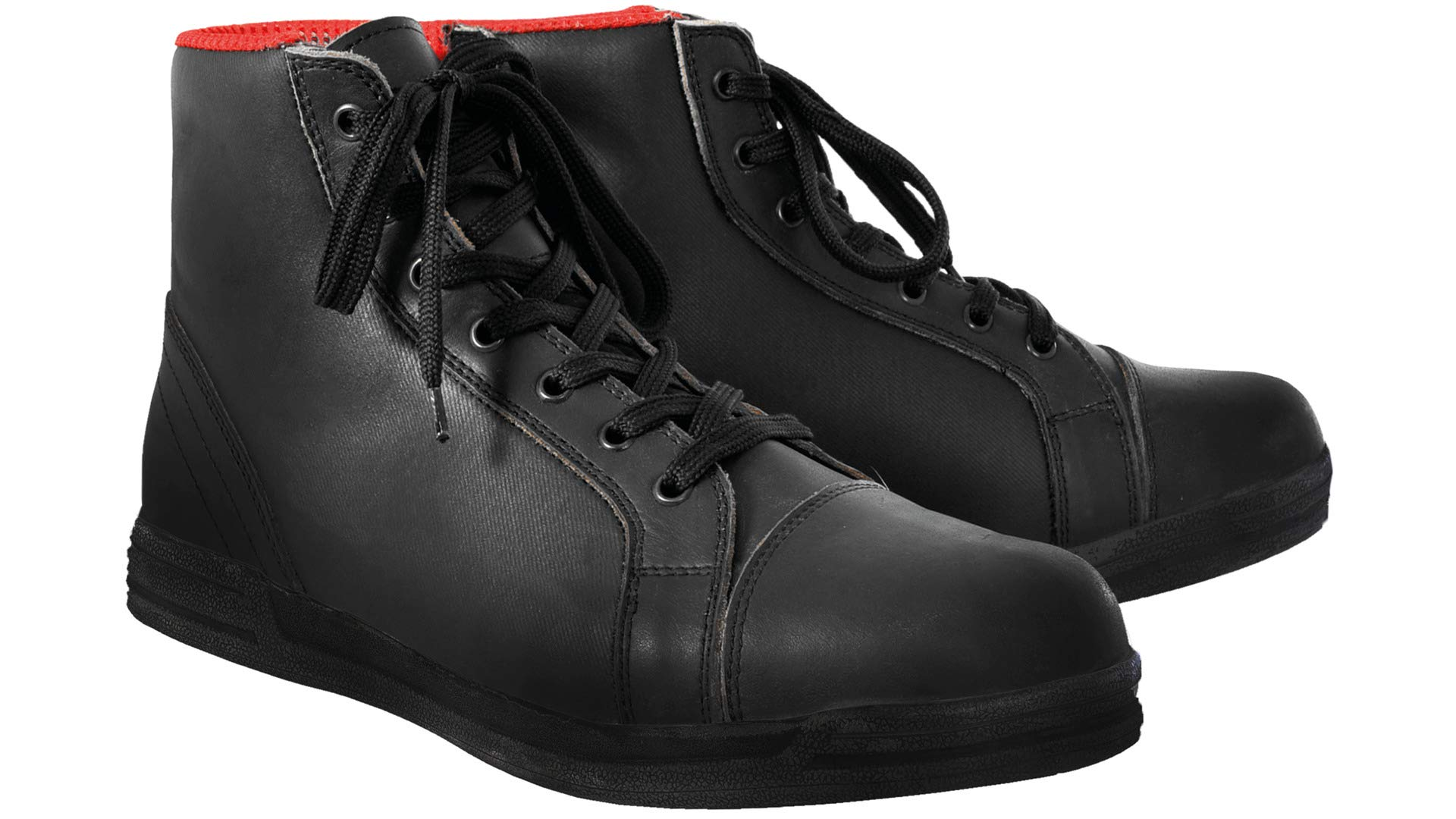 Oxford Jericho Boots (STEALTH BLACK)