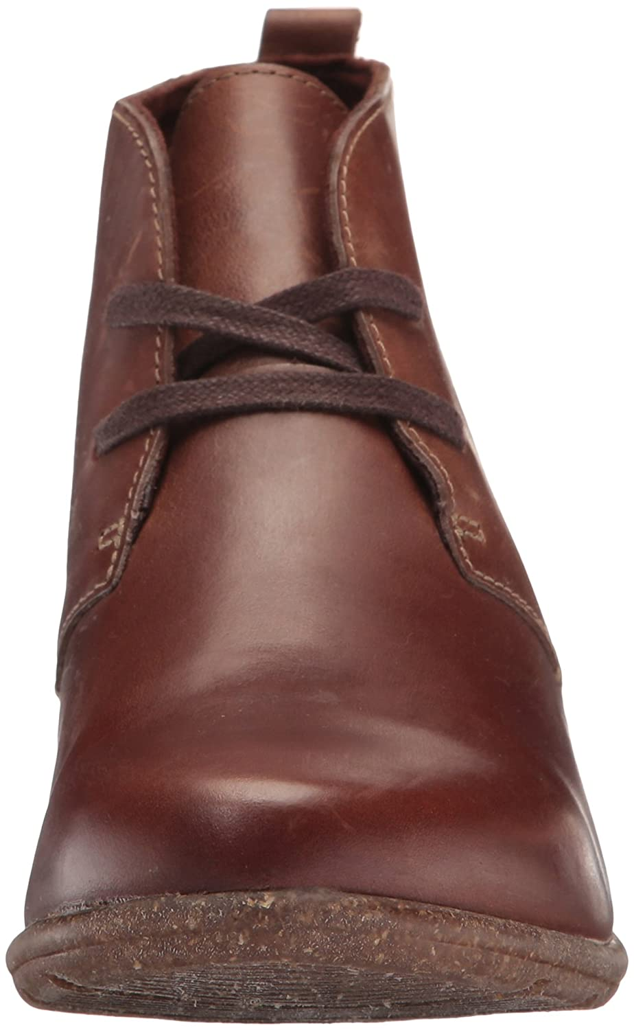 CLARKS Women's Wilrose Sage Ankle Bootie B01MU013DP 6 W US|Brown Oiled Nubuck