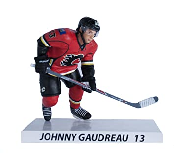 size 40 9dfcd c8ab4 NHL Premium Sports Artifacts Johnny Gaudreau-Calgary Flames Collectible  Figure, 6-Inch