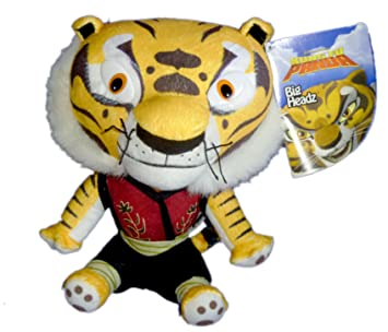 Dreamworks Kung Fu Panda Big Headz 20cm Plush Tigress Amazon Co
