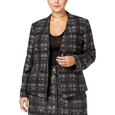 bd2c08cb10b Image Unavailable. Image not available for. Color  RACHEL Rachel Roy Curvy  Trendy Plus Size Houndstooth ...
